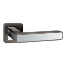 Дверная ручка PUNTO MARS графит/хром