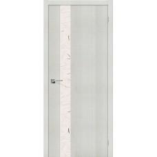 Порта-51 Bianco Crosscut Silver Art
